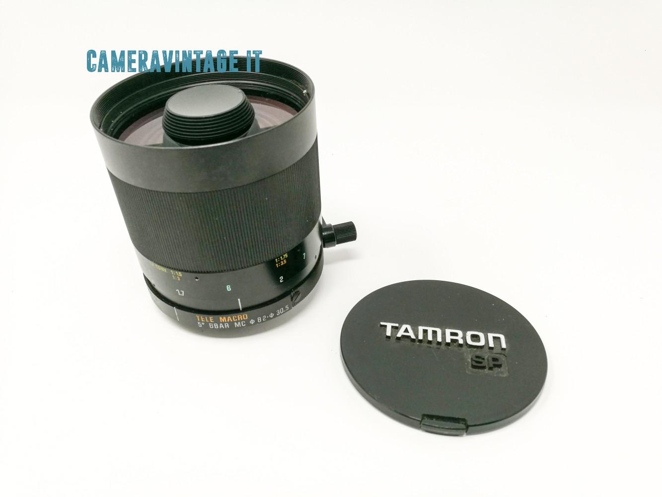 TAMRONTAMRON SP TELE MACRO 500/8 TELE MACRO CATAD